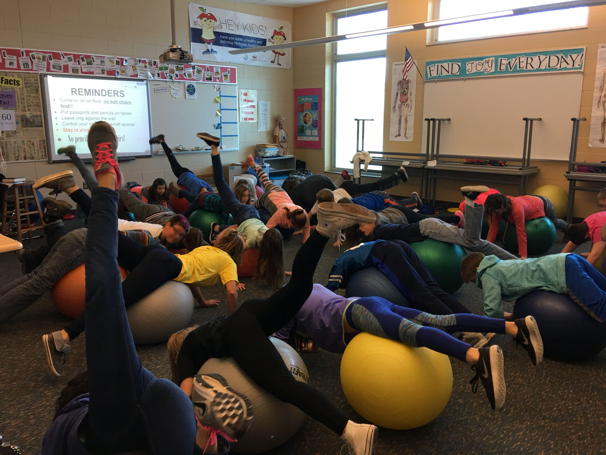 Allendale Activity Day Ball Yoga